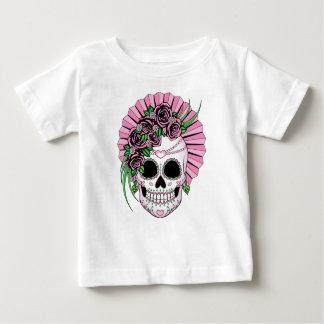Lady Sugar Skull Baby T-Shirt