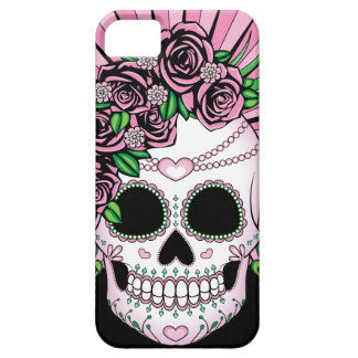 Lady Sugar Skull Barely There iPhone 5 Case