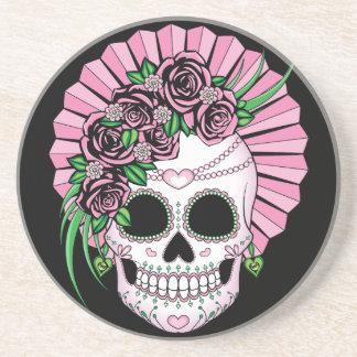 Lady Sugar Skull Coaster