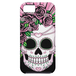 Lady Sugar Skull iPhone 5 Cases