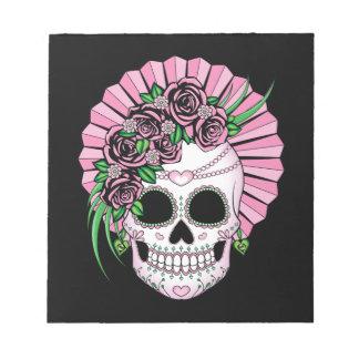 Lady Sugar Skull Notepad