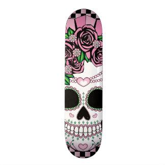 Lady Sugar Skull Skate Boards