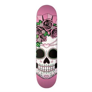 Lady Sugar Skull Skateboard Deck