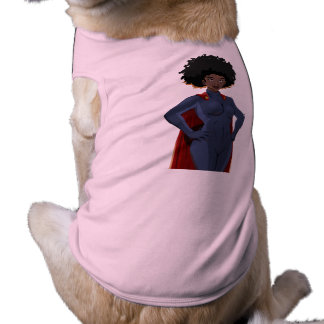 lady Super Hero Shirt