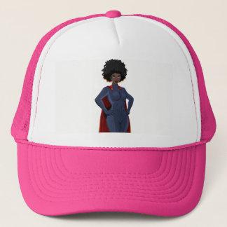 Lady Super Hero Trucker Hat