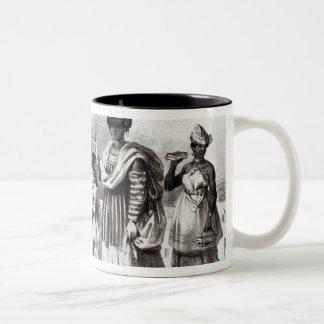 Lady taking child to Baptism Coffee Mug