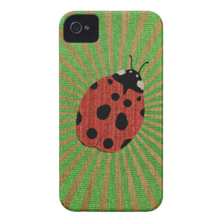 Lady The Bug iPhone 4 Cover