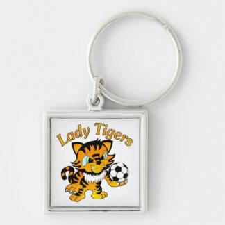 Lady Tigers Soccer Key Ring