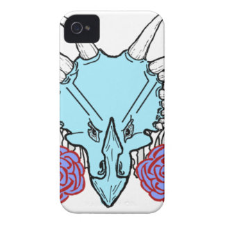Lady Triceratops Case-Mate iPhone 4 Case