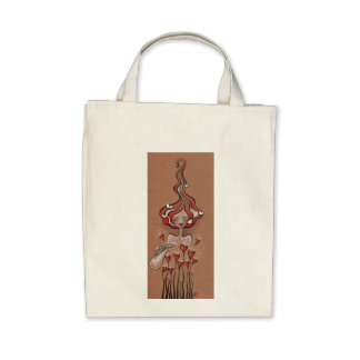 lady valentine tote bags