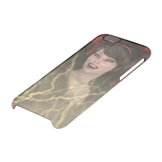Lady Vamp Clear iPhone 6/6S Case