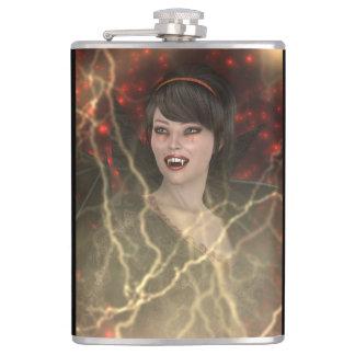 Lady Vamp Hip Flask