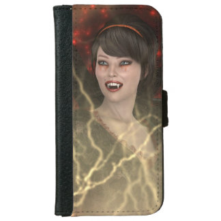 Lady Vamp iPhone 6 Wallet Case