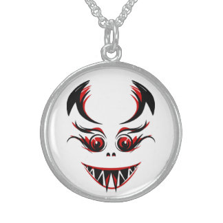 LADY VAMPIRE STERLING SILVER NECKLACE