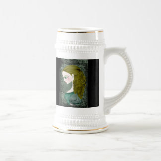 Lady Victorian Stein Tall Mug