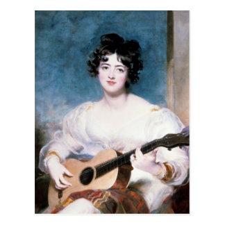 Lady Wallscourt, 1825 Postcard