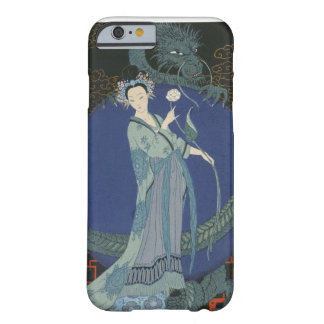 Lady with a Dragon (colour litho) Barely There iPhone 6 Case