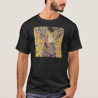 Lady with Fan - Gustav Klimt T-Shirt