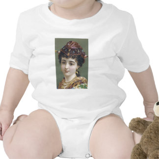 Lady with Jewelled Hat Bodysuit