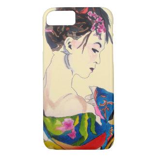 Lady with kimono iPhone 8/7 case