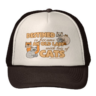 Lady With Lots of Cats Cap