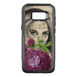Lady with Roses OtterBox Commuter Samsung Galaxy S8+ Case