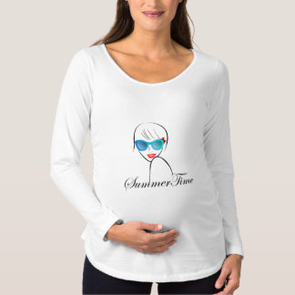 Lady with Style for summer time Maternity T-Shirt