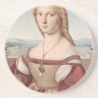Lady with the Unicorn Raphael Santi Coaster