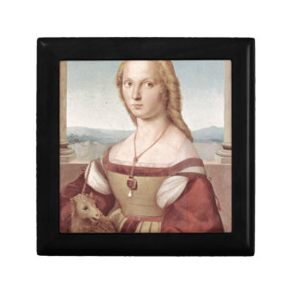 Lady with the Unicorn Raphael Santi Gift Box