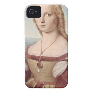 Lady with the Unicorn Raphael Santi iPhone 4 Covers