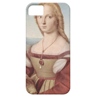 Lady with the Unicorn Raphael Santi iPhone 5 Covers