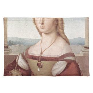Lady with the Unicorn Raphael Santi Placemat