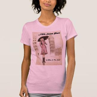Lady with Umbrella T-Shirt