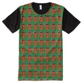 Ladybirds All-Over Print T-Shirt