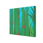Ladybirds Gallery Wrapped Canvas