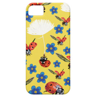 Ladybirds Phone SE + iPhone 5/5S, Barely There Case For The iPhone 5