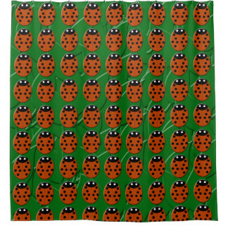 Ladybirds Shower Curtain