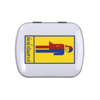 Ladyboy / Tomboy Toilet ⚠ Thai Sign ⚠ Jelly Belly Tins