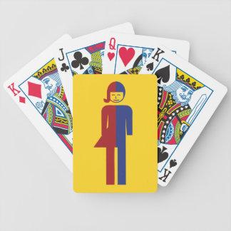 Ladyboy / Tomboy Toilet ⚠ Thai Sign ⚠ Poker Cards