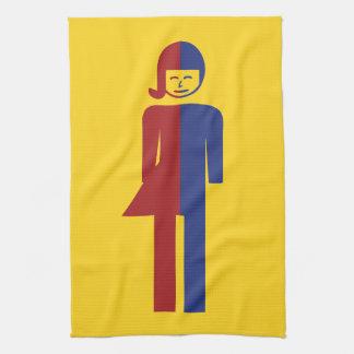 Ladyboy / Tomboy Toilet ⚠ Thai Sign ⚠ Tea Towels