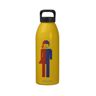 Ladyboy / Tomboy Toilet ⚠ Thai Sign ⚠ Water Bottles