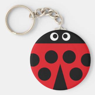 ladybug 1 key ring