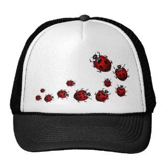 Ladybug  Art Caps Hats Ladybug Wildlife Art Hat