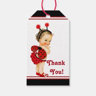 Ladybug Baby Shower Brunette Girl Baby Shower