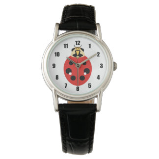 Ladybug Beetle Red Watch