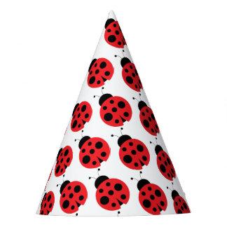 Ladybug Birthday Party Hats