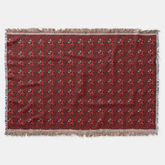 Ladybug Blanket Ladybug / Ladybird Throw Blankets