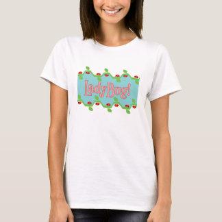 Ladybug Blue Background T-Shirt