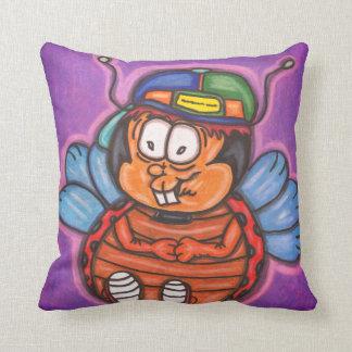 ladybug boy cartoon cushion