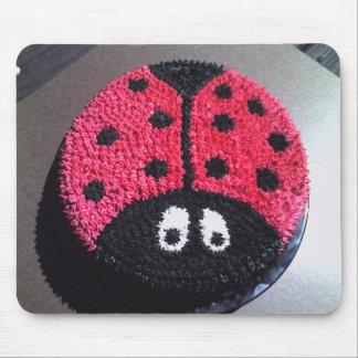 Ladybug Cake Mouse Pad